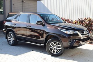 2015 Toyota Fortuner GUN156R GX Brown 6 Speed Automatic Wagon