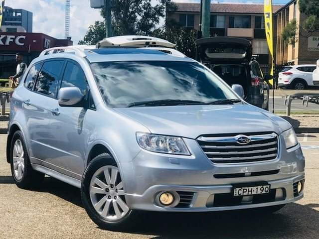 Used Subaru Tribeca B9 MY13 R AWD Premium Pack, 2013 Subaru Tribeca B9 MY13 R AWD Premium Pack Silver, Chrome 5 Speed Sports Automatic Wagon