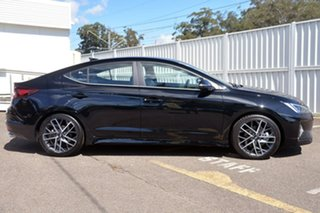 2018 Hyundai Elantra AD.2 MY19 Sport DCT Premium Black 7 Speed Sports Automatic Dual Clutch Sedan.