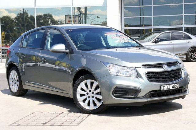 Used Holden Cruze JH Series II MY16 Equipe, 2016 Holden Cruze JH Series II MY16 Equipe Prussian Steel 6 Speed Sports Automatic Hatchback