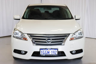 2016 Nissan Pulsar B17 Series 2 ST-L White 1 Speed Constant Variable Sedan