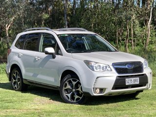 2014 Subaru Forester S4 MY14 XT Lineartronic AWD Premium White 8 Speed Constant Variable Wagon.