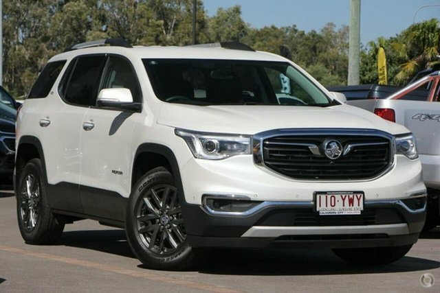 Used Holden Acadia AC MY19 LTZ AWD Aspley, 2018 Holden Acadia AC MY19 LTZ AWD Abalone White 9 Speed Sports Automatic Wagon