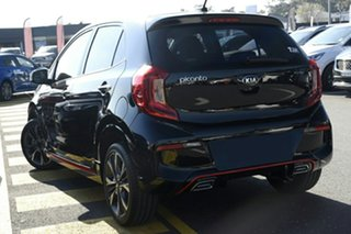 2021 Kia Picanto JA MY21 GT-Line Aurora Black 4 Speed Automatic Hatchback.