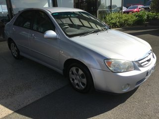2004 Kia Cerato LD Silver 4 Speed Automatic Sedan.