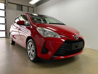 2019 Toyota Yaris NCP130R MY18 Ascent Red 4 Speed Automatic Hatchback.