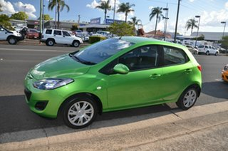 2011 Mazda 2 DE MY10 Neo Green 4 Speed Automatic Hatchback.