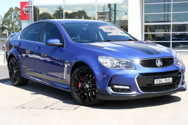 Used Holden Commodore VF II MY16 SS V Redline, 2015 Holden Commodore VF II MY16 SS V Redline Slipstream Blue 6 Speed Manual Sedan