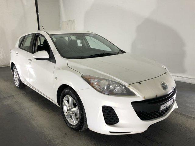 Used Mazda 3 BL10F2 MY13 Neo, 2013 Mazda 3 BL10F2 MY13 Neo White 6 Speed Manual Hatchback