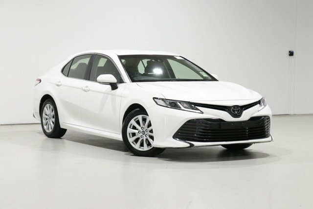 Used Toyota Camry ASV70R MY19 Ascent Bentley, 2018 Toyota Camry ASV70R MY19 Ascent White 6 Speed Automatic Sedan