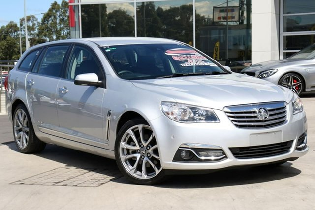 Used Holden Calais VF II MY17 V Sportwagon, 2017 Holden Calais VF II MY17 V Sportwagon Silver 6 Speed Sports Automatic Wagon