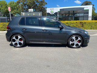 2011 Volkswagen Golf VI MY11 GTi Grey 6 Speed Manual Hatchback