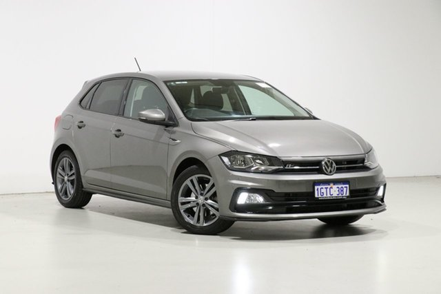 Used Volkswagen Polo AW MY19 85TSI Comfortline Bentley, 2018 Volkswagen Polo AW MY19 85TSI Comfortline Grey 6 Speed Manual Hatchback