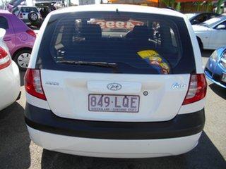 2007 Hyundai Getz TB MY06 White 5 Speed Manual Hatchback