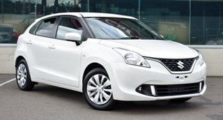 2020 Suzuki Baleno White Manual Hatchback.