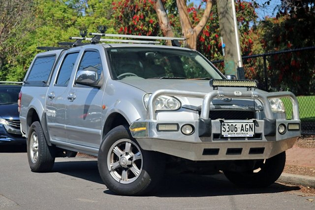 Used Great Wall V240 K2 (4x4) Glenelg, 2010 Great Wall V240 K2 (4x4) Silver 5 Speed Manual Dual Cab Utility