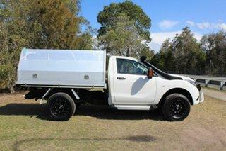 2016 Mazda BT-50 UR0YF1 XT White 6 Speed Manual Cab Chassis