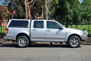 2010 Great Wall V240 K2 (4x4) Silver 5 Speed Manual Dual Cab Utility.