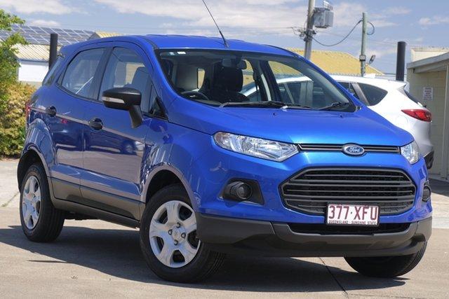 Used Ford Ecosport BK Ambiente PwrShift, 2015 Ford Ecosport BK Ambiente PwrShift Blue 6 Speed Sports Automatic Dual Clutch Wagon