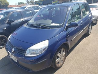 2006 Renault Scenic II J84 Dynamique Blue Diamond 4 Speed Sports Automatic Hatchback