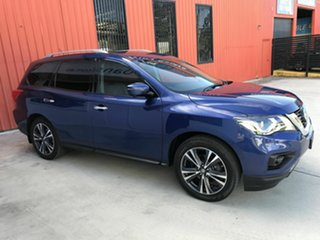 2018 Nissan Pathfinder R52 Series II MY17 Ti X-tronic 2WD Blue 1 Speed Constant Variable Wagon