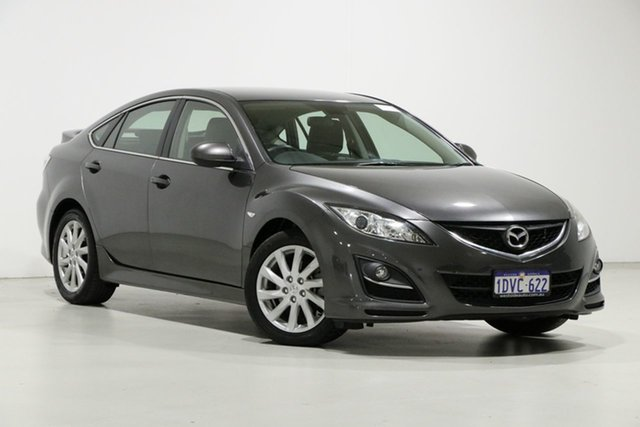 Used Mazda 6 GH MY11 Touring, 2012 Mazda 6 GH MY11 Touring Silver 5 Speed Auto Activematic Hatchback