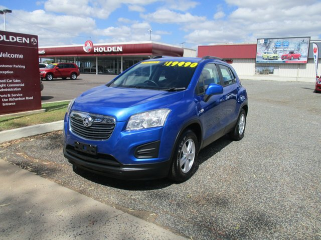 Used Holden Trax TJ MY16 LS North Rockhampton, 2016 Holden Trax TJ MY16 LS Blue 6 Speed Automatic Wagon