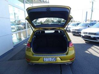 2017 Volkswagen Golf 7.5 MY18 110TSI DSG Highline Turmeric Yellow & Black Roof 7 Speed