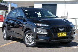 2019 Hyundai Kona OS.2 MY19 Active 2WD Black 6 Speed Sports Automatic Wagon