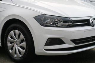 2020 Volkswagen Polo AW MY20 70TSI Trendline White 5 Speed Manual Hatchback.