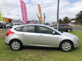 2013 Ford Focus LW MkII Ambiente PwrShift Silver 6 Speed Sports Automatic Dual Clutch Hatchback.