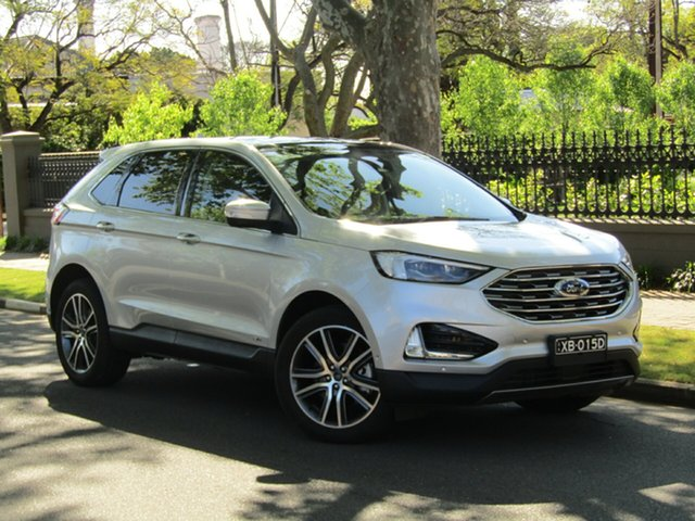 Used Ford Endura CA 2019MY Titanium, 2018 Ford Endura CA 2019MY Titanium Silver 8 Speed Sports Automatic Wagon