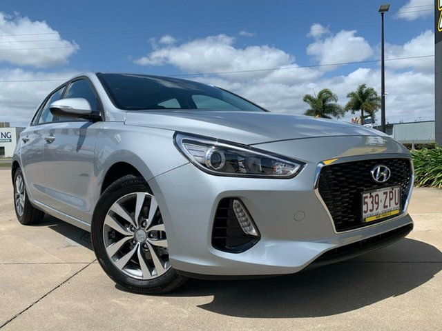 Used Hyundai i30 PD2 MY20 Active Townsville, 2019 Hyundai i30 PD2 MY20 Active Silver 6 Speed Sports Automatic Hatchback