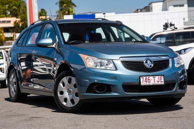 Used Holden Cruze JH Series II MY13 CD Sportwagon, 2012 Holden Cruze JH Series II MY13 CD Sportwagon Blue 6 Speed Sports Automatic Wagon