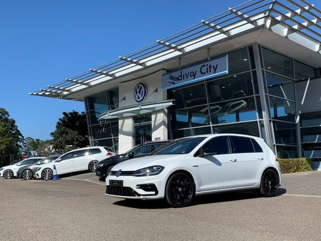 Demo Volkswagen Golf 7.5 MY20 R DSG 4MOTION Final Edition, 2020 Volkswagen Golf 7.5 MY20 R DSG 4MOTION Final Edition White 7 Speed Sports Automatic Dual Clutch