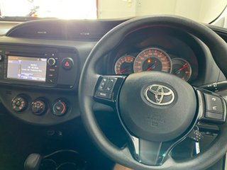 2019 Toyota Yaris NCP130R MY18 Ascent White 4 Speed Automatic Hatchback