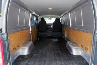 2015 Toyota HiAce TRH201R LWB Silver 6 Speed Automatic Van