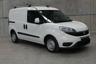 2017 Fiat Doblo 263 Series 1 Low Roof SWB Comfort-matic White 5 speed Automatic Van.