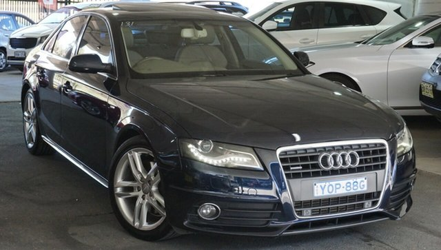Used Audi A4 B8 8K MY11 Multitronic, 2011 Audi A4 B8 8K MY11 Multitronic Blue 8 Speed Constant Variable Sedan