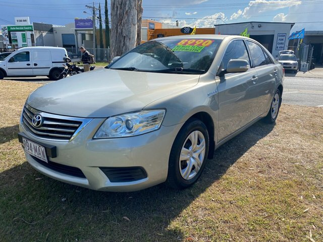 Used Toyota Aurion GSV40R AT-X Clontarf, 2009 Toyota Aurion GSV40R AT-X Silver Sedan