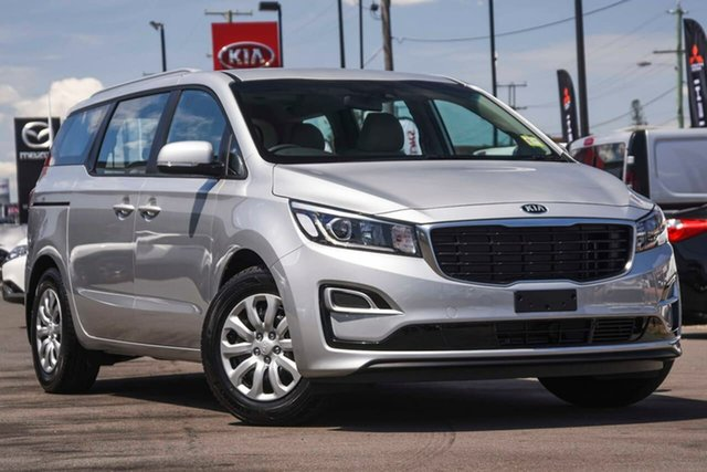 New Kia Carnival YP MY20 S, 2020 Kia Carnival YP MY20 S Silky Silver 8 Speed Sports Automatic Wagon