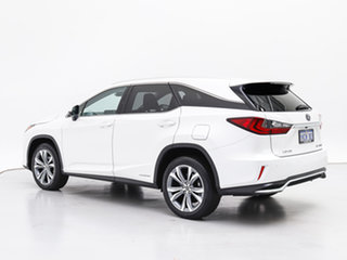 2018 Lexus RX450HL GYL26R MY18 Luxury Hybrid White Continuous Variable Wagon