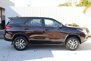 2015 Toyota Fortuner GUN156R GX Brown 6 Speed Automatic Wagon.