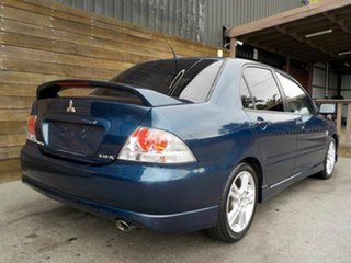 2006 Mitsubishi Lancer CH MY06 VR-X Blue 5 Speed Manual Sedan.