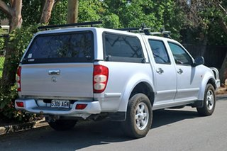 2010 Great Wall V240 K2 (4x4) Silver 5 Speed Manual Dual Cab Utility