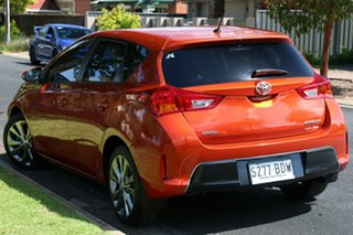 2015 Toyota Corolla ZRE182R Levin S-CVT SX Orange 7 Speed Constant Variable Hatchback.