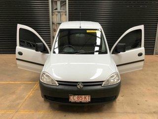 2012 Holden Combo XC MY11 White 5 Speed Manual Van.
