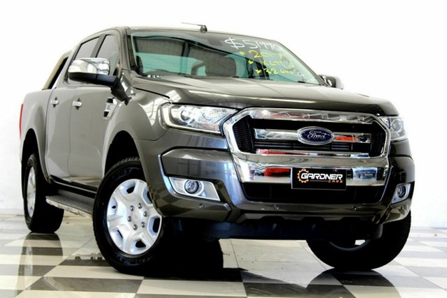 Used Ford Ranger PX MkII MY18 XLT 3.2 (4x4), 2017 Ford Ranger PX MkII MY18 XLT 3.2 (4x4) Grey 6 Speed Automatic Double Cab Pick Up