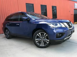 2018 Nissan Pathfinder R52 Series II MY17 Ti X-tronic 2WD Blue 1 Speed Constant Variable Wagon.