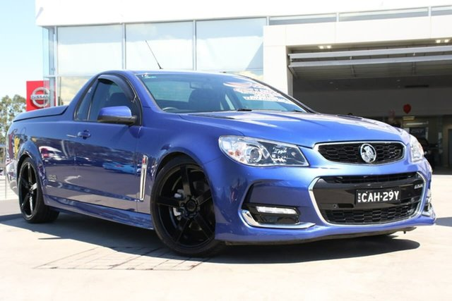 Used Holden Ute VF II MY16 SS Ute, 2015 Holden Ute VF II MY16 SS Ute Slipstream Blue 6 Speed Sports Automatic Utility